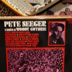 Discos de vinilo: PETE SEEGER. Lote 209927920