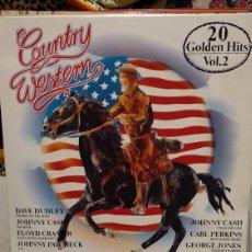 Discos de vinilo: COUNTRY WESTERN. Lote 209928138