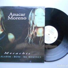 Discos de vinilo: AZUCAR MORENO *MECACHIS* MAXI-SINGLE 1998. Lote 209937871
