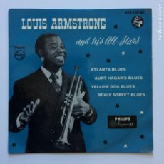 Discos de vinilo: LOUIS ARMSTRONG AND HIS ALL-STARS – ATLANTA BLUES HOLANDA PHILIPS. Lote 209941821