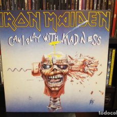 Discos de vinilo: IRON MAIDEN - CAN I PLAY WITH MADNESS. Lote 209942261