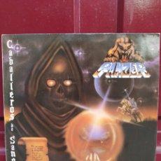 Discos de vinilo: PANZER, CABALLEROS DE SANGRE. LP VINILO PRIMERA EDICIÓN DE 1986. BUEN ESTADO.. Lote 209942418