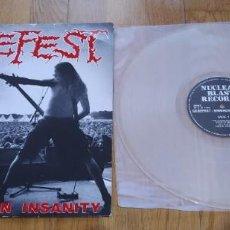 Discos de vinilo: VINILO GOREFEST – THE EINDHOVEN INSANITY DEATH METAL. ORIGINAL 1993.. Lote 209945725