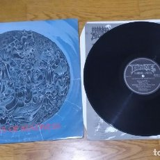 Discos de vinilo: VINILO MORBID ANGEL – ALTARS OF MADNESS. DEATH METAL. ORIGINAL 1989.. Lote 209947287