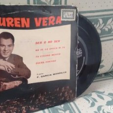 Disques de vinyle: E P ( VINILO)-PROMOCION- DE LAUREN VERA AÑOS 60. Lote 209950910