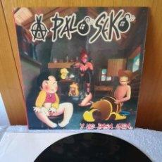 Discos de vinilo: JOYA PORTADA CENSURADA, A PALO SEKO - Y NO PASA NADA 1995,EXCELENTE!!!. Lote 209951545