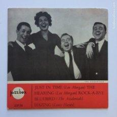 Discos de vinilo: LEE MORGAN / THE AXIDENTALS / LOUIS HAYES, SWEDEN 1964 JAZZBOX. Lote 209952570