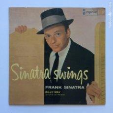 Discos de vinilo: FRANK SINATRA – SINATRA SWINGS VOLUME 1 SWEDEN 1961 REPRISE RECORDS. Lote 209953711