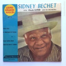 Discos de vinilo: SIDNEY BECHET / CLAUDE LUTER ORCHESTRA – PETITE FLEUR DENMARK BARBEN RECORDS. Lote 209954515
