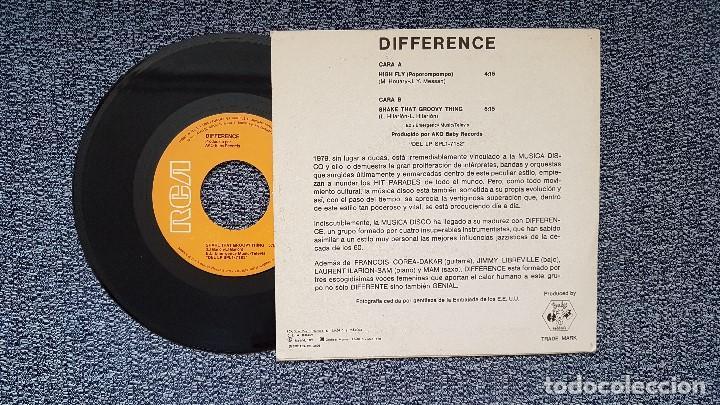 Discos de vinilo: Difference - High fly / Shake that groovy thing. Año 1.979. Editado por RCA - Foto 2 - 209961487