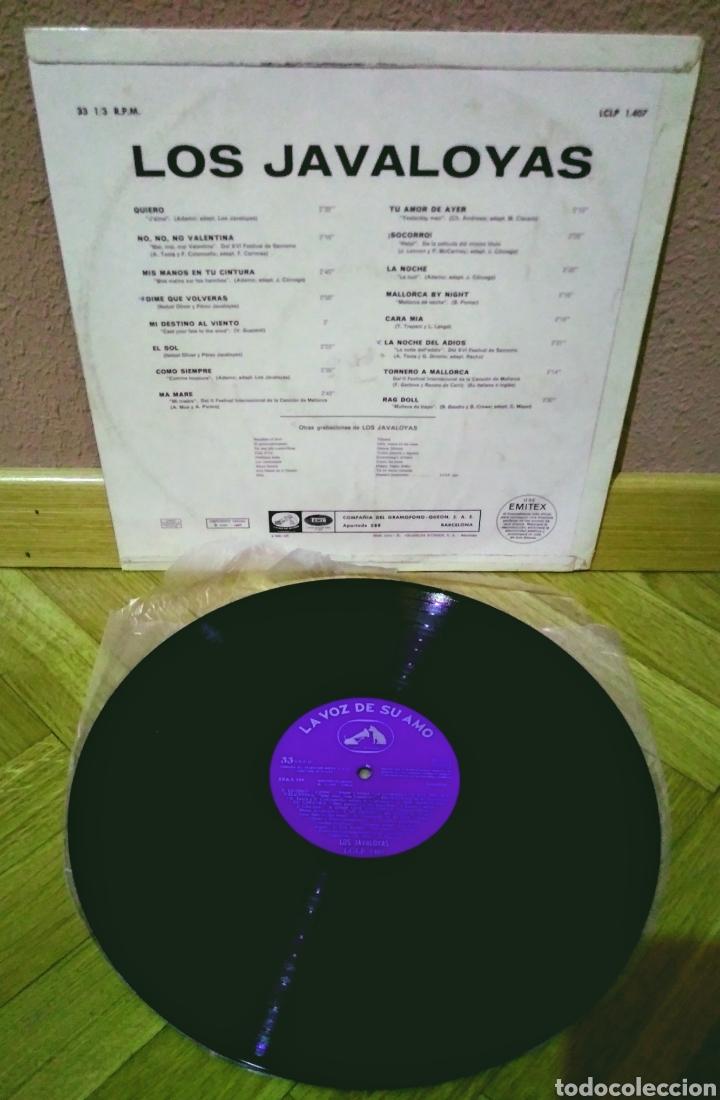 Discos de vinilo: LOS JAVALOYAS LP La Voz De Su Amo 1966 - Foto 2 - 209971013
