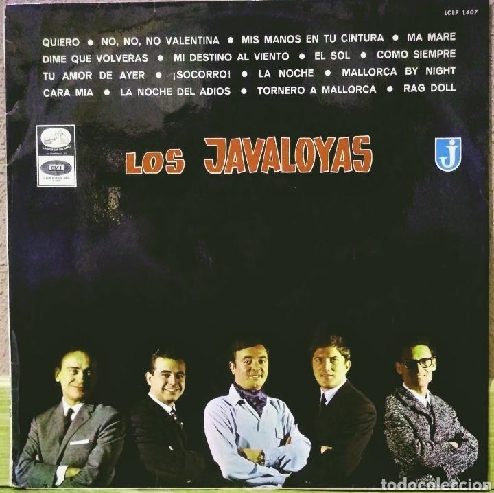 LOS JAVALOYAS LP LA VOZ DE SU AMO 1966 (Música - Discos - LP Vinilo - Grupos Españoles 50 y 60)
