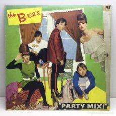 Discos de vinilo: LP - DISCO - VINILO - PARTY MIX - THE B-52'S - ISLAND - AÑO 1981. Lote 209973395