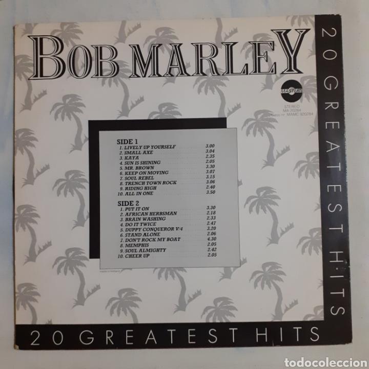 Discos de vinilo: Bob Marley. 20 Greatest Hits. Francia MA 20284. - Foto 2 - 209979527