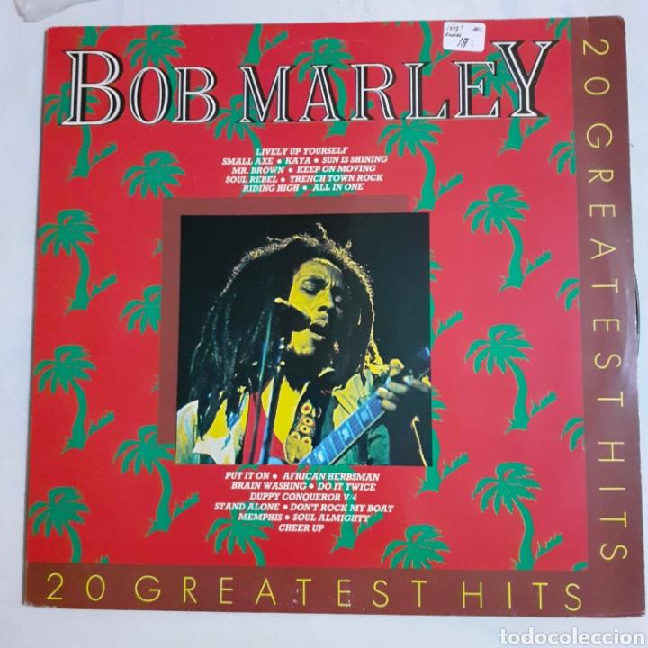 BOB MARLEY. 20 GREATEST HITS. FRANCIA MA 20284. (Música - Discos - LP Vinilo - Reggae - Ska)
