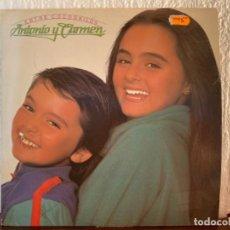 Discos de vinilo: ANTONIO Y CARMEN. Lote 209985358