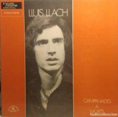 Discos de vinilo: LP LLUIS LLACH : CAMPANADES A MORTS ( EDICION FRANCIA ) LETRAS EN FRANCES Y CATALAN. Lote 209986856