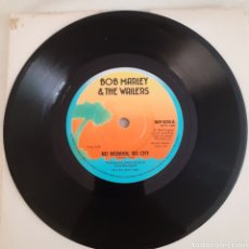 Discos de vinilo: MARLEY NO WOMAN NO CRY / KINKY REGGAE SINGLE WIP 6244 AÑO 1973 LIVE IN LONDON EDICIÓN INGLESA UK. Lote 210002100