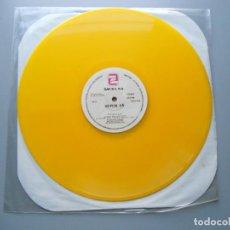 Discos de vinilo: TEQUILA!* ?– ME VUELVO LOCO / QUIERO BESARTE MAXI SINGLE 1979 VINILO AMARILLO VG++. Lote 210016375