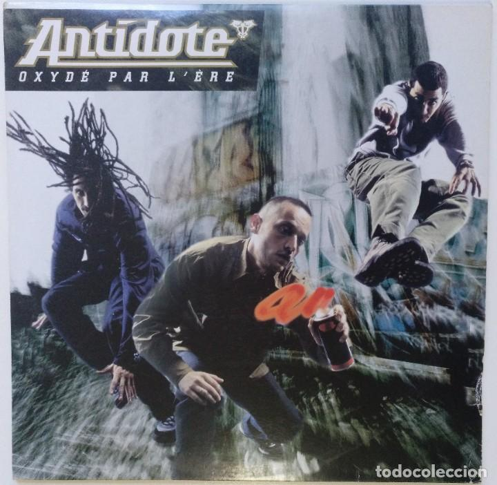 "ANTÍDOTE - OXIDÉ PAR L' ÈRE [FRANCIA HIP HOP / RAP] [EDICIÓN ESPECIAL LIMITADA 2LP 12"" 33RPM][1996] (Música - Discos - LP Vinilo - Rap / Hip Hop)"