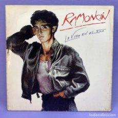 Discos de vinilo: LP - RAMONCIN LA VIDA EN EL FILO 1986. Lote 210022703
