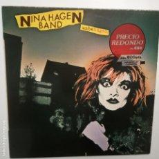 Discos de vinilo: NINA HAGEN BAND- UNBEHAGEN - SPAIN LP 1983 - EN BUEN ESTADO.. Lote 210023780