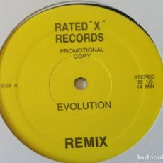 Discos de vinilo: GIORGIO MORODER / CHICAGO - EVOLUTION / STREET PLAYER - 2000. Lote 210024900