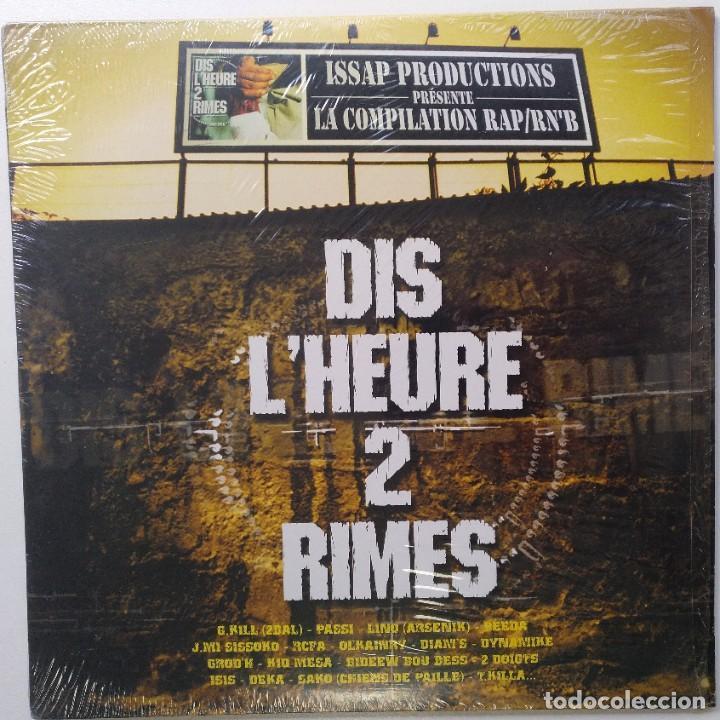 """DIS L'HEURE 2 RIMES (PASSI) [FRANCIA HIP HOP / RN'B] [EDICIÓN ESPECIAL LIMITADA 2LP 12"""" 33RPM][2002] (Música - Discos - LP Vinilo - Rap / Hip Hop)"""