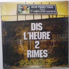 """Discos de vinilo: DIS L'HEURE 2 RIMES (PASSI) [FRANCIA HIP HOP / RN'B] [EDICIÓN ESPECIAL LIMITADA 2LP 12"""" 33RPM][2002]. Lote 210027892"""