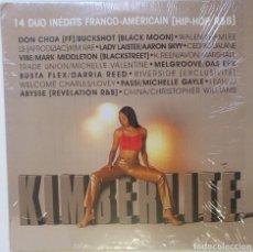 """Discos de vinilo: KIMBERLITE - INEDITS FRANCO-AMERICAN [FRANCIA HIP HOP / RNB] [EDICIÓN LIMITADA 2LP 12"""" 33RPM] [2001]. Lote 210030016"""