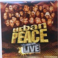 "Discos de vinilo: URBAN PEACE - LIVE DOBLE ALBUM [FRANCIA HIP HOP / RAP] [[EDICIÓN LIMITADA 2LP 12"" 33RPM]] [[2002]]. Lote 210031601"