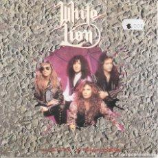 Discos de vinilo: WHITE LION - LIGHTS AND THUNDER / SHE'S GOT EVERYTHING (SINGLE ALEMAN, ATLANTIC 1991). Lote 210036435