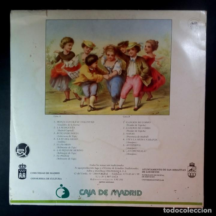 Discos de vinilo: VARIOS - temas infantiles tradicionales de la comunidad de madrid - LP CON ENCARTE 1987 - SAGA - Foto 2 - 210038626