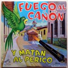Discos de vinilo: CONJUNTO OSWALDO OROPEZA: FUEGO AL CAÑÓN - LP - RCA VENEZUELA - 1960/1964 - EXCELENTE (EX). Lote 210039536