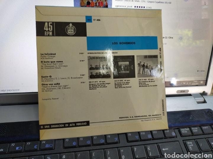Discos de vinilo: Los bohemios EP la felicidad + 3 1967 - Foto 2 - 210039902