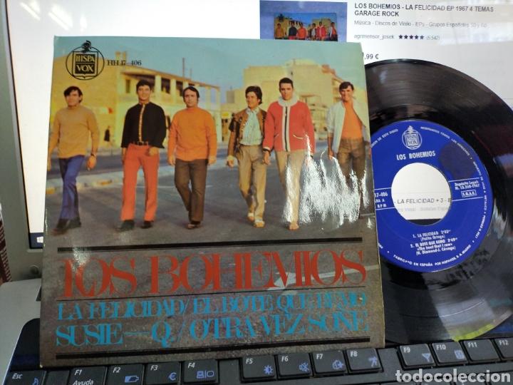 LOS BOHEMIOS EP LA FELICIDAD + 3 1967 (Música - Discos de Vinilo - EPs - Grupos Españoles 50 y 60)