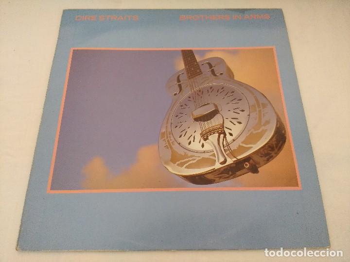 VINILO/DIRE STRAITS/BROTHERS IN ARMS. (Música - Discos - LP Vinilo - Pop - Rock - New Wave Extranjero de los 80)