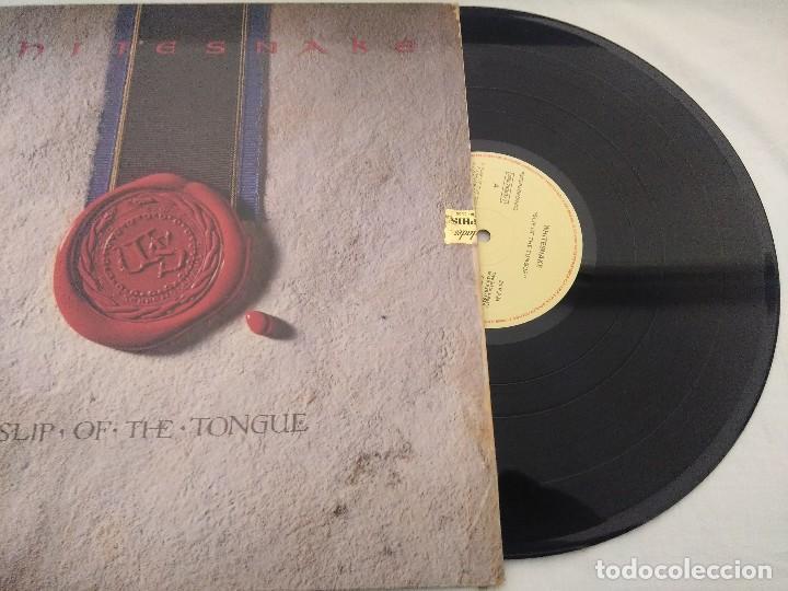 Discos de vinilo: VINILO METAL/WHITESNAKE/SLIP OF THE TONGUE. - Foto 2 - 210040631
