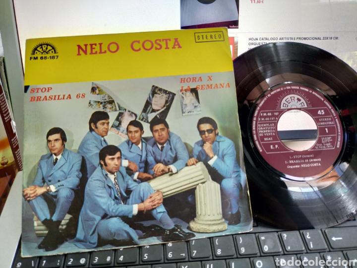 NELO COSTA EP STOP + 3 1971 (Música - Discos de Vinilo - EPs - Grupos Españoles 50 y 60)