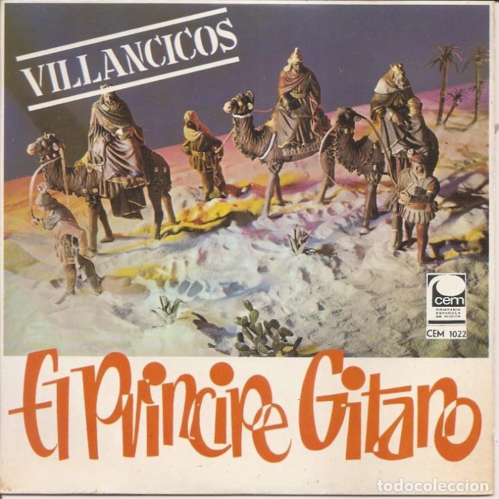 EL PRINCIPE GITANO - VILLANCICOS (VER FOTO ADJUNTA) (EP ESAPÑOL, DISCOS CEM 1968) (Música - Discos de Vinilo - EPs - Flamenco, Canción española y Cuplé)
