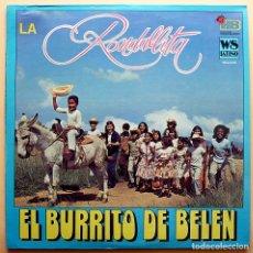 Discos de vinilo: LA RONDALLITA: EL BURRITO DE BELÉN - LP - WEST SIDE LATINO (USA) - 1976 - CASI NUEVO (NM). Lote 210041820