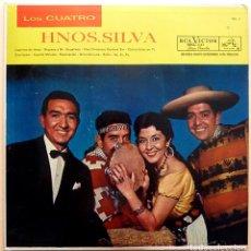 Discos de vinilo: LOS CUATRO HERMANOS SILVA: VOL. II - LP - RCA VICTOR - 1960 / 1963 - (G+). Lote 210046465