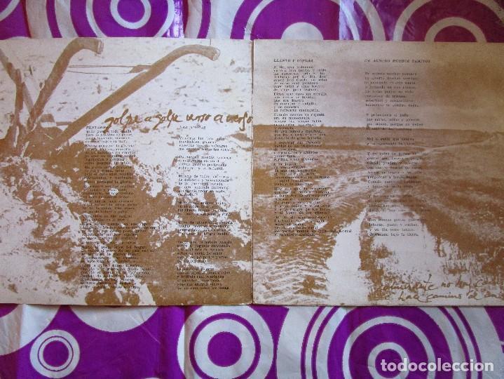 Discos de vinilo: JOAN MANUEL SERRAT Dedicado a Machado Poeta - disco de Portugal con 4 canciones - Cantares ver las - Foto 3 - 210049236