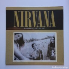Discos de vinilo: NIRVANA ‎– KAOS FM LIVE 17/04/1987 (LIMITED 500 COPIES) EUROPE 2015 RADIO SILENCE. Lote 210049628