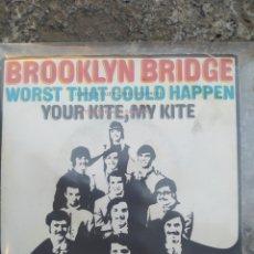 Discos de vinilo: BROOKLYN BRIDGE. WORST THAT COULD HAPPEN. SINGLE VINILO. Lote 210053075