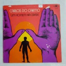 Discos de vinilo: CARLOS DO CARMO. UM HOMEN NA CIDADE. GATEFOLD. 1977 PORTUGAL. MOV. 7005.. Lote 210056735