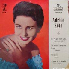 Discos de vinilo: ADELFA SOTO EP SELLO MONTILLA-ZAFIRO AÑO 1961. Lote 210058956