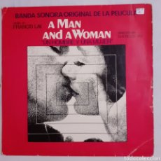 Disques de vinyle: A MAN AND A WOMAN. BSO. ESPAÑA 1975. 88727 I.. Lote 210063690