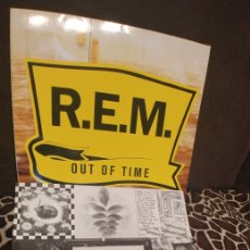 Discos de vinilo: LP REM OUT OF TIME. Lote 210066796
