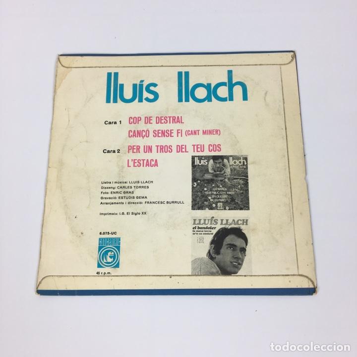 """Discos de vinilo: EP 7"""" - LLUÍS LLACH - L'Estaca (1968) - Foto 2 - 210067426"""